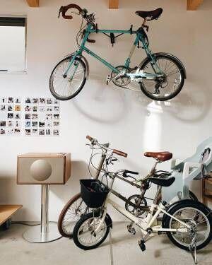 お気に入りの自転車がインテリアの一部に