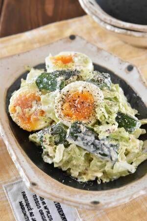 春キャベツと卵のデリ風サラダレシピ