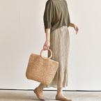 季節感先取り!おしゃれなかごバッグをご紹介します♪【大人女子】