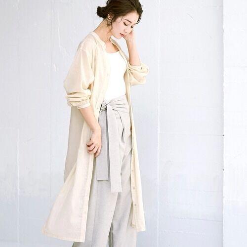 シンプルなのにおしゃれ!おうち服にもおすすめの「ワントーンコーデ」15選