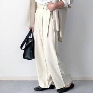 今欲しい!【ユニクロ】のプチプラ人気パンツで大人女子コーデを作ろう♪