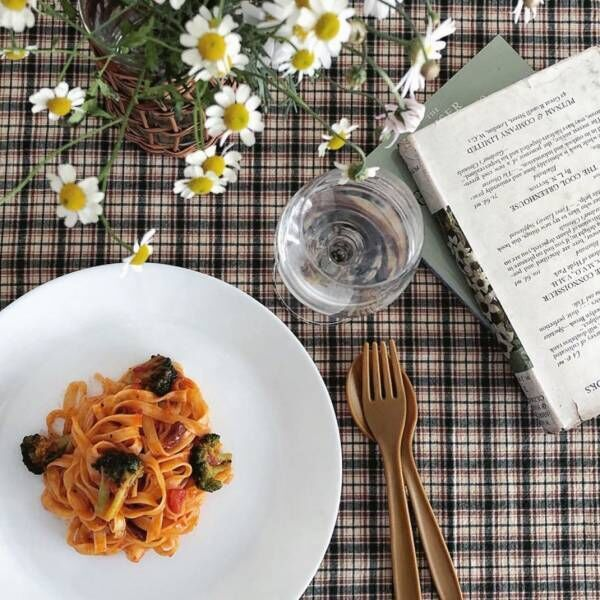 毎日贅沢気分の食卓に♪【IKEA】のおしゃれなテーブルウェア使用実例