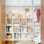 すっきり整った《クローゼット収納》でお洋服選びも快適♪整理収納アイデア集
