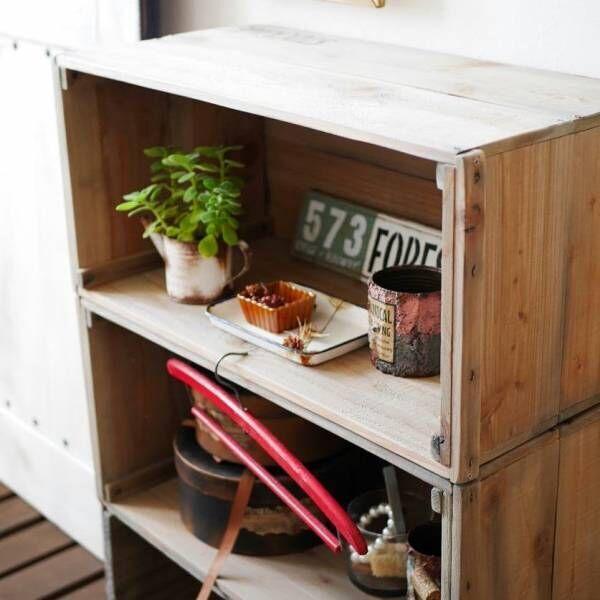 お洒落で可愛い『りんご箱』でインテリアを格上げ!収納&アレンジ術のヒント集