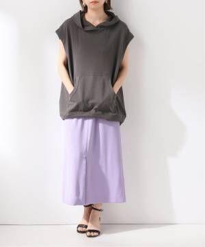 [IENA] PEサイドポケットタイトスカート◆