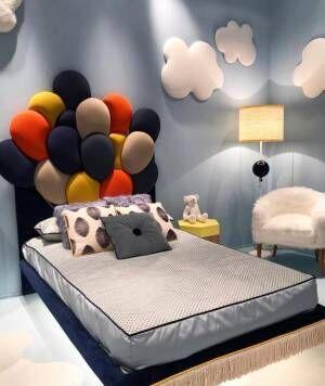 まるで雲の上?夢いっぱいのお部屋