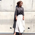 【ユニクロ×GU】女っぽく決まる♡初夏のスカートコーデ特集♡