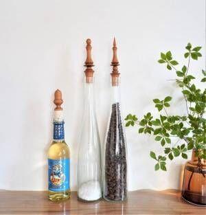 【連載】愛らしい形と美しい木目のとりこに♪イギリスのボトルストッパーをご紹介