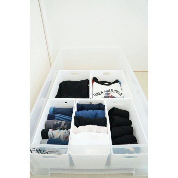 セリア おすすめ 衣類整理アイテム