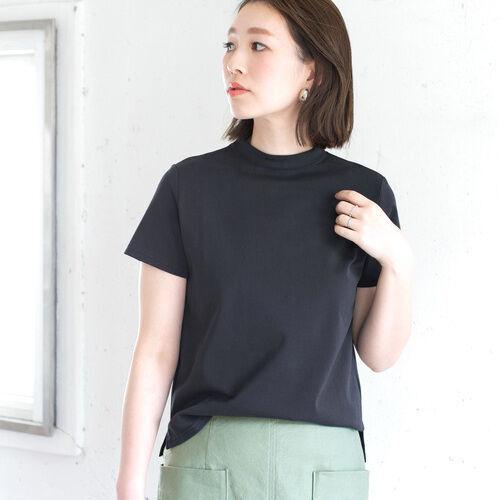 モックネックTシャツの夏スタイル15選♡上品ハイネックで洗練カジュアル