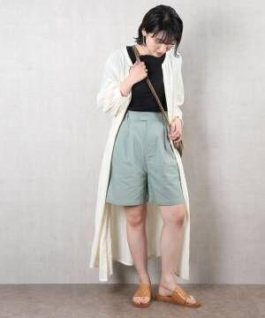 [FREAK'S STORE] 【WEB限定】綿麻ショートパンツ