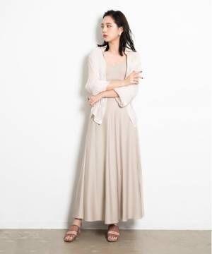 [YARD PLUS/AUNT MARIE'S] AUNT MARIE'Sサテンマーメイドスカート