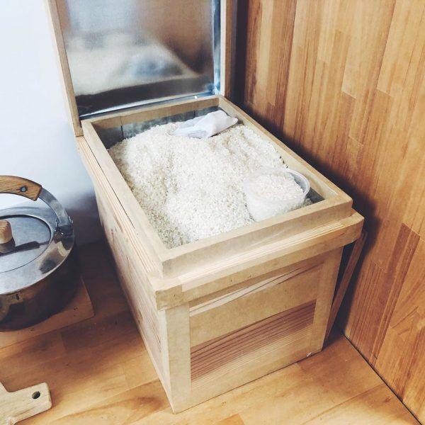 お米収納アイデア3