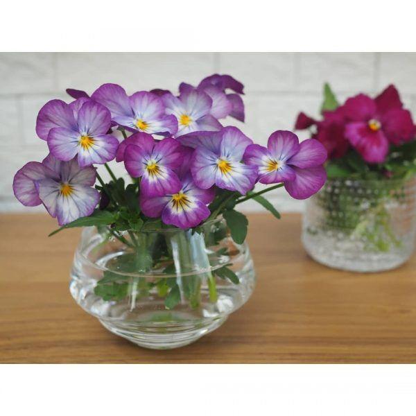 花のある丁寧な暮らし