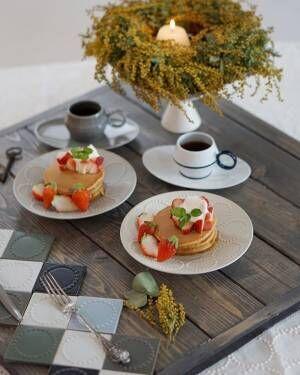 テーブルコーディネートは北欧食器で