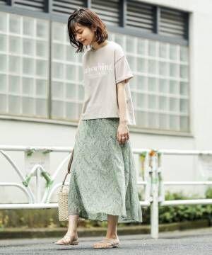 [natural couture] リラックスロゴゆるT(M)