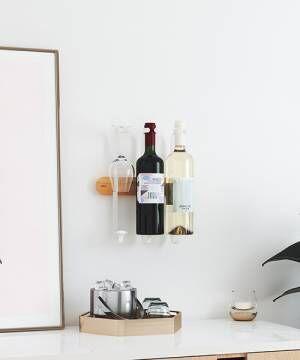 [entre square] umbra/ショービノ ワイン ディスプレイ ホワイト