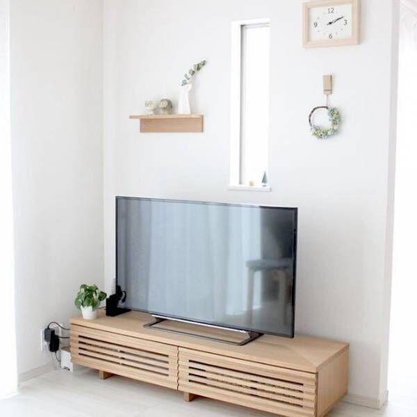 すっきり整理で快適&おしゃれに。テレビ周りの収納アイデアを徹底解説