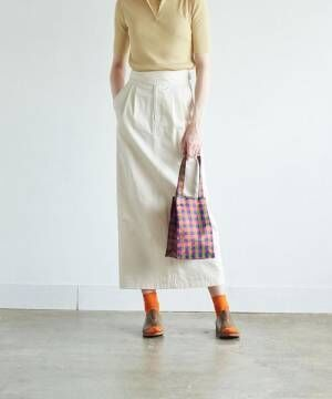 [BEAUTY&YOUTH UNITED ARROWS] <Steven Alan>FRONT TUCK MAXI SKIRT/スカート