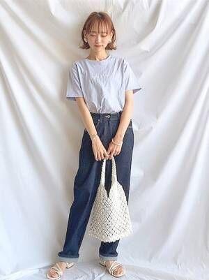 [Chillfar] 編み編みメッシュトートバッグ
