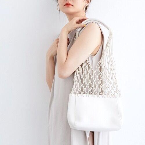涼しげな夏の装いに♪大人女子におすすめの『メッシュトートバッグ』カタログ