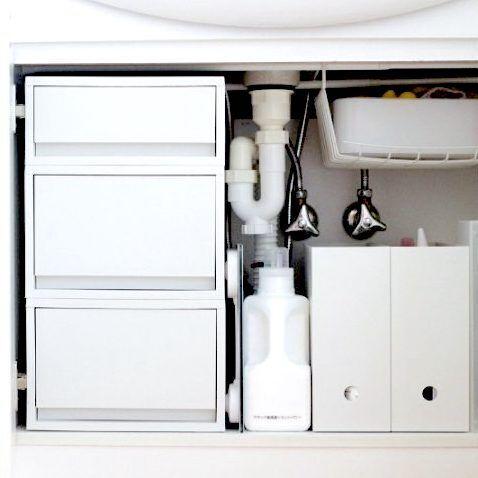 【連載】無印でお悩み解決!使いやすさがアップする洗面台下収納のコツ