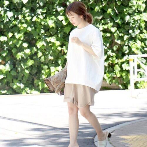 30代大人女子におすすめ♪夏の人気定番《Tシャツ》の着回しコーデ
