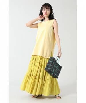 [ROSE BUD] ティアードスカート
