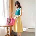 「映え」スカートコーデ♡パッと目を引く大人のレディースファッション
