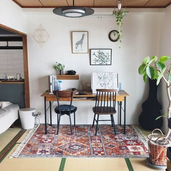 和室でおしゃれなインテリア♪お部屋をアレンジして自分好みの空間に