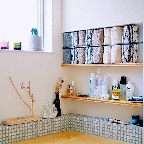 美しく収納して清潔感を出す!タオルのアイデア収納術やコツ