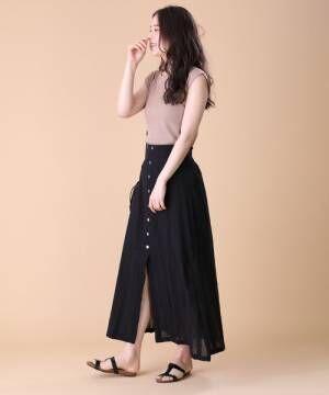 [FREAK'S STORE] フロントボタン ドビースカート