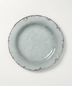 [Shelly island] 【TOSSDICE/トスダイス】MELAMINE CRACKED PLATE