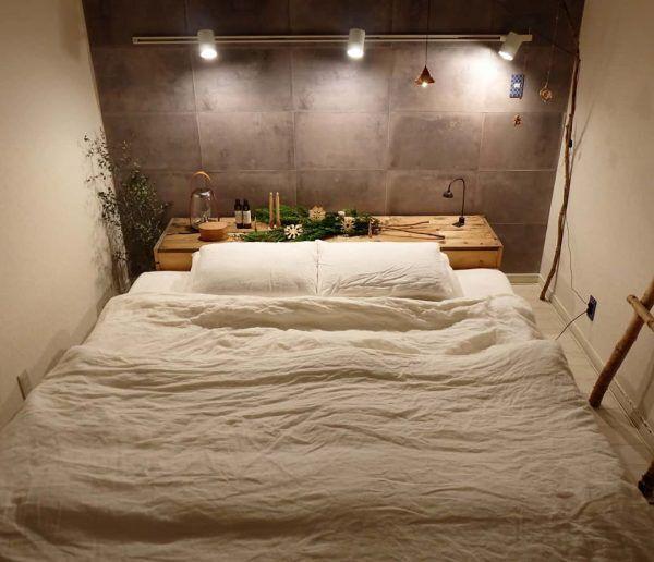 ナチュラルテイスト 寝室 おしゃれ2