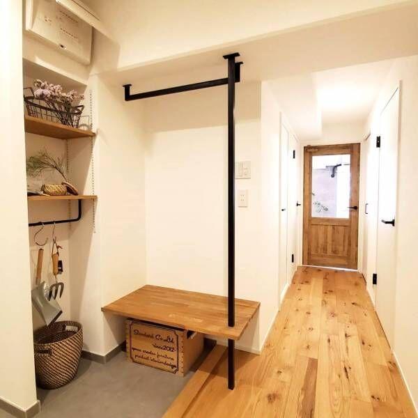 靴以外も賢く収納しよう♪参考になる《玄関》の収納アイデアを一挙公開