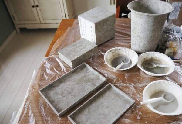 コンクリートエフェクト DIY14