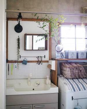 洗面所 収納アイデア3