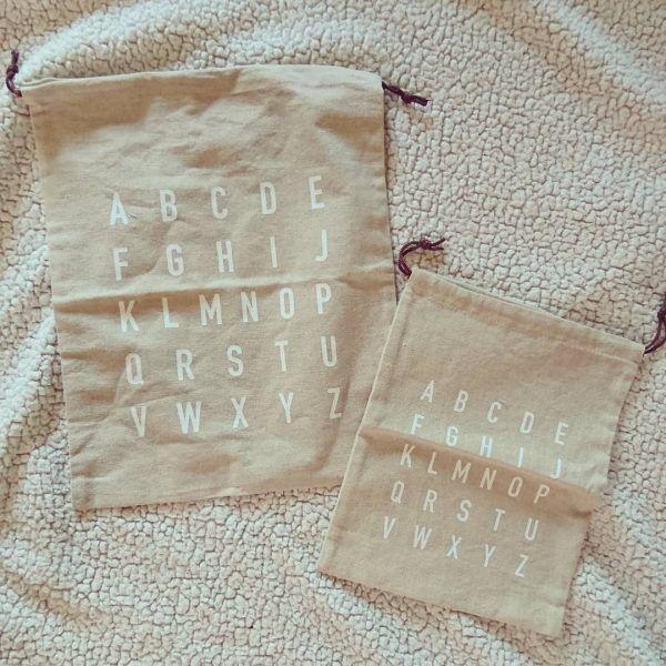 100均の巾着・ポーチ3