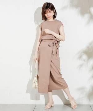 [natural couture] らくちん素材のおしゃれセットアップ