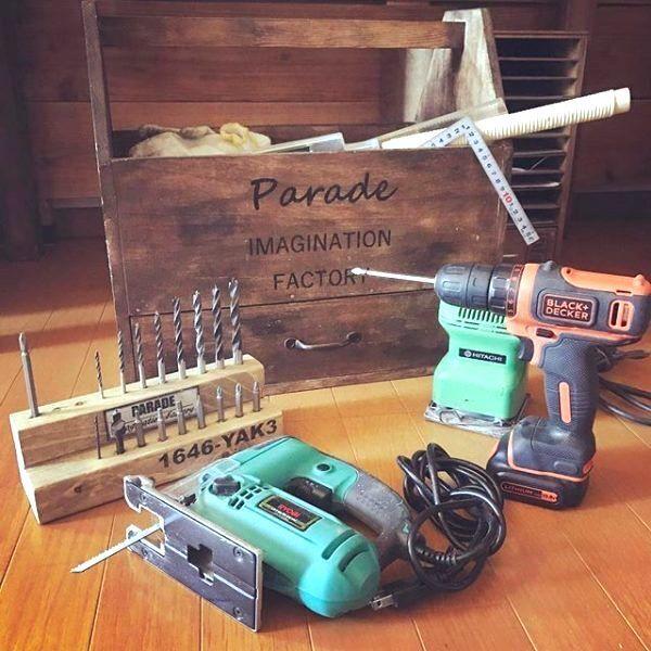 DIYツールの整理は見た目も美しく♪工具類を使いやすく収納するには