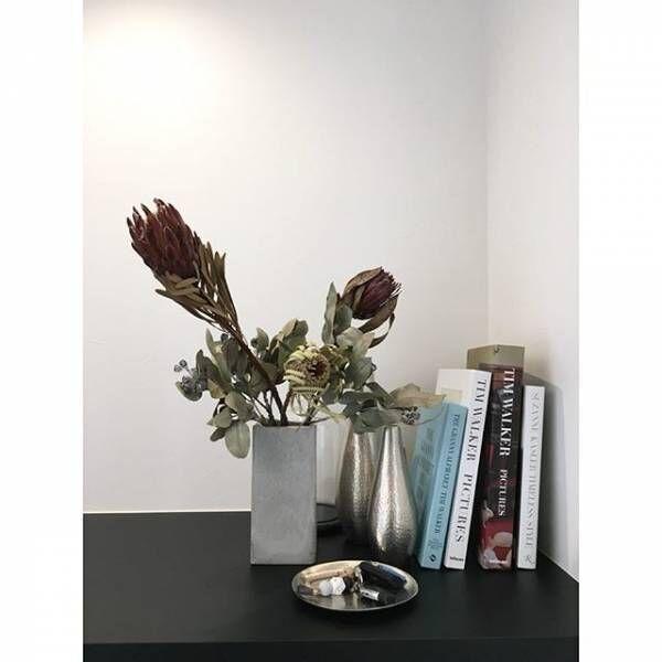 コンクリート花瓶や鉢でインテリア2