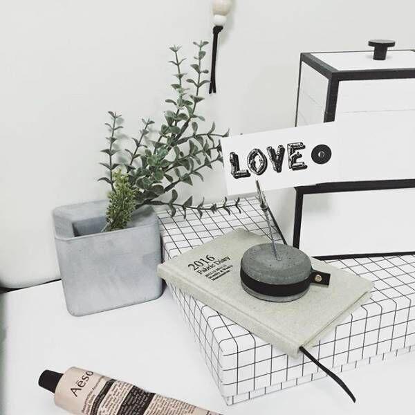 コンクリート花瓶や鉢でインテリア