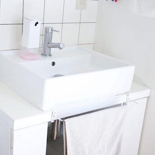 【連載】《セリア》簡単にできる!築11年の汚れた洗面台をセルフリフォームしよう
