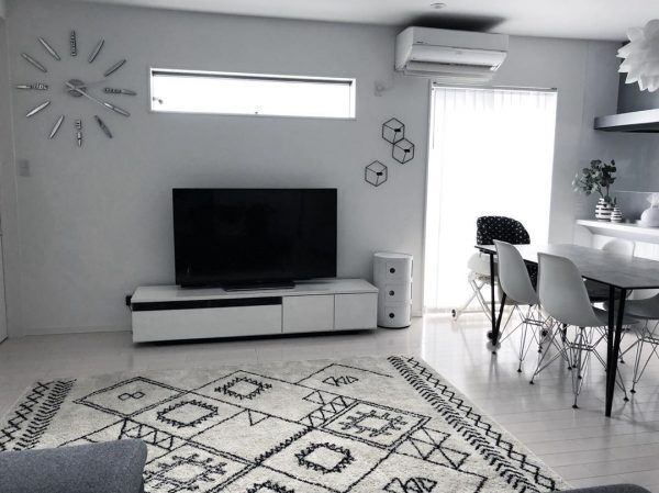 テレビボードインテリア2