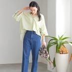 甘めブラウス×デニムパンツで大人可愛く♡2020秋のデイリーファッション見本帖