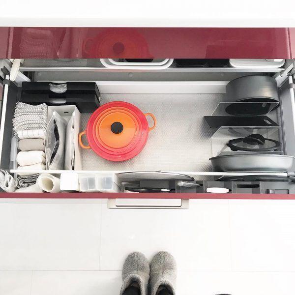キッチンの引き出し収納3