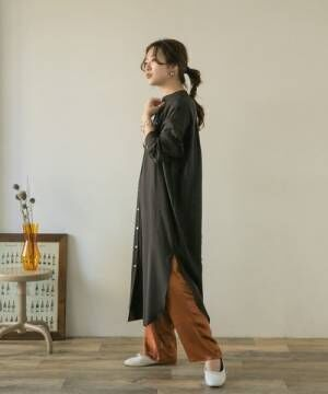 [ITEMS URBAN RESEARCH] ロングシャツワンピース