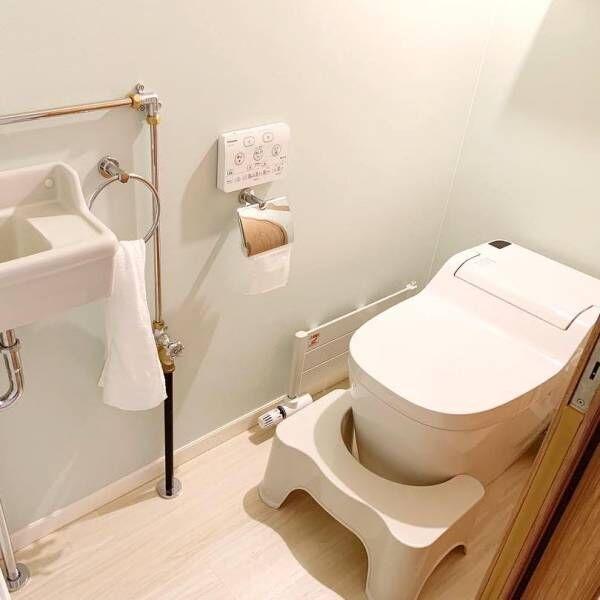 おしゃれな《トイレインテリア》♪トイレの手洗いスペースで印象チェンジ
