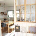 おうちづくりの参考に♪《室内窓》や《DIY窓》をつけておしゃれ空間をつくろう!