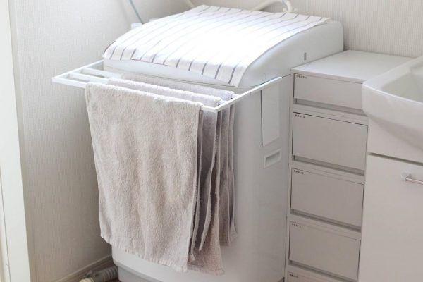 洗面・脱衣所のすっきり収納アイデア2